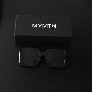 MVMT Black Sunglasses, like new